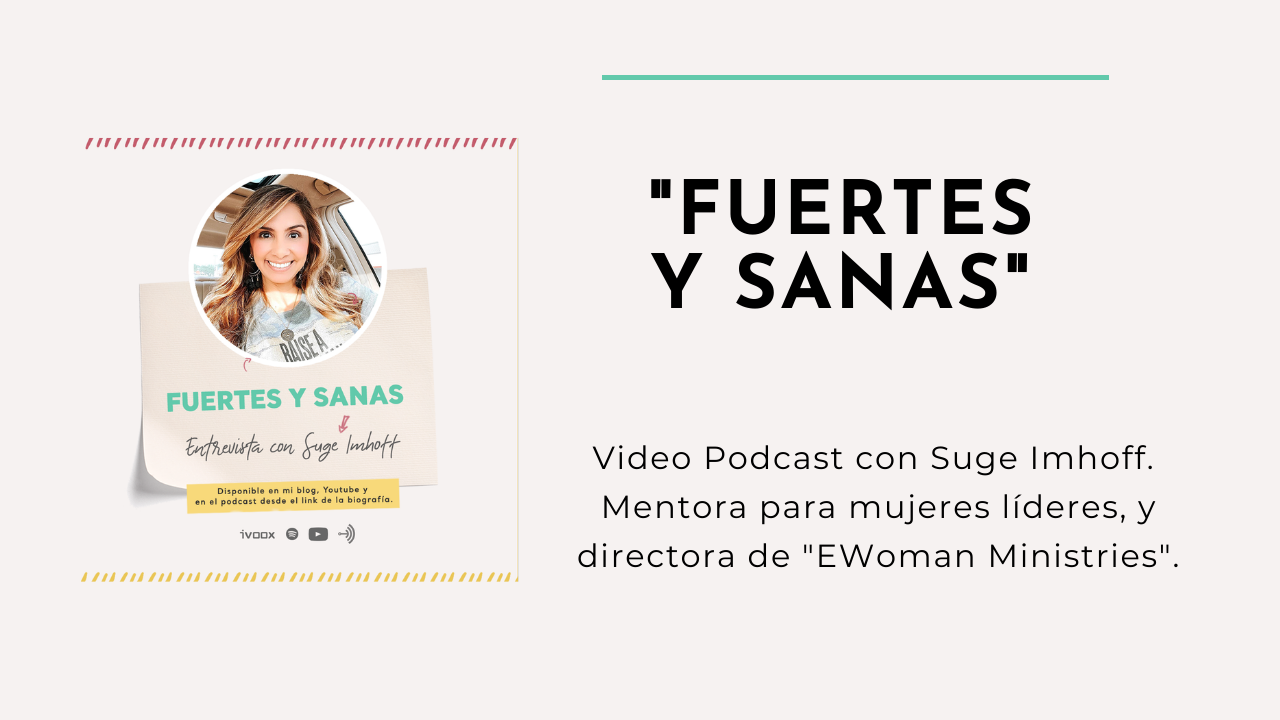 VIDEO PODCAST: ENTREVISTA A SUGE IMHOFF