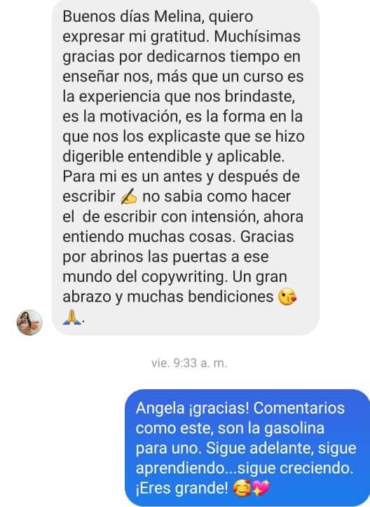 Angela Izquiero -(Fondo blanco)